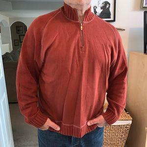 Tommy Bahama Half Zip Sweater